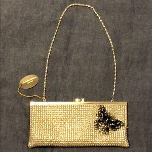 Isabella Adams Swarovski crystal clutch